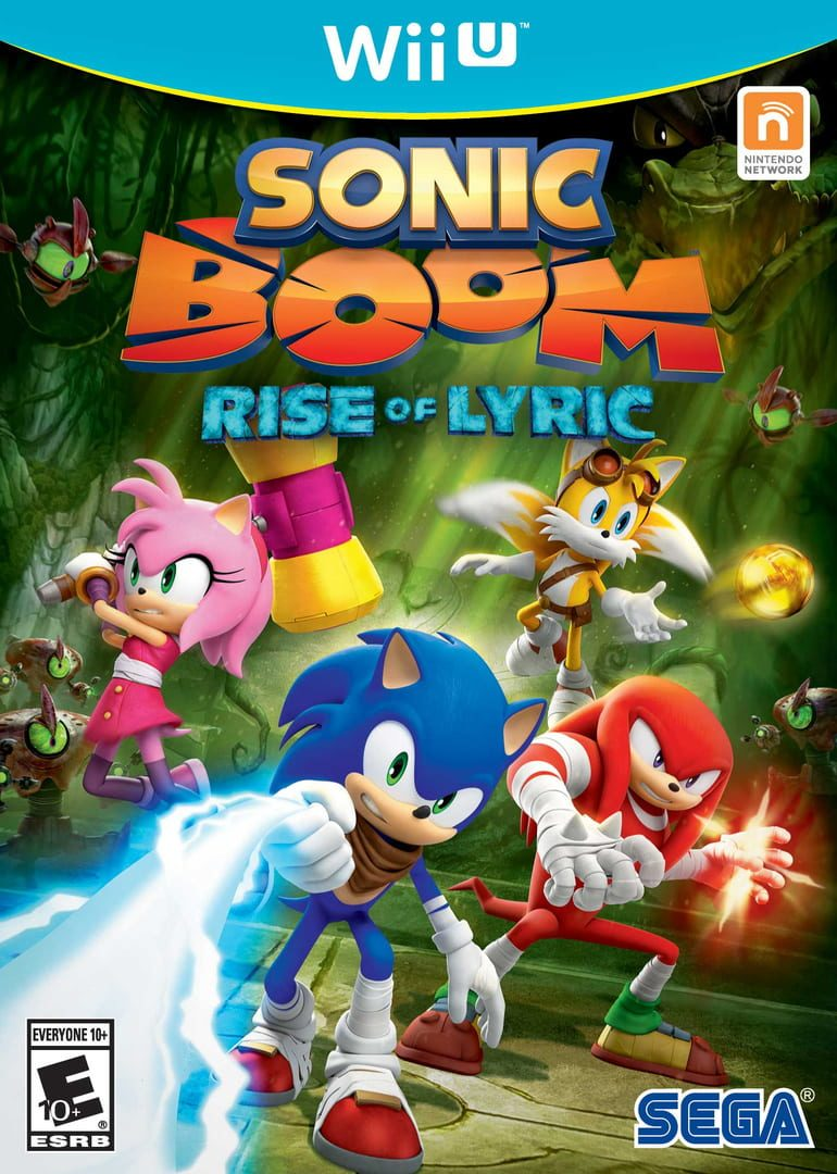 buy Sonic Boom: Rise of Lyric cd key for wii platform