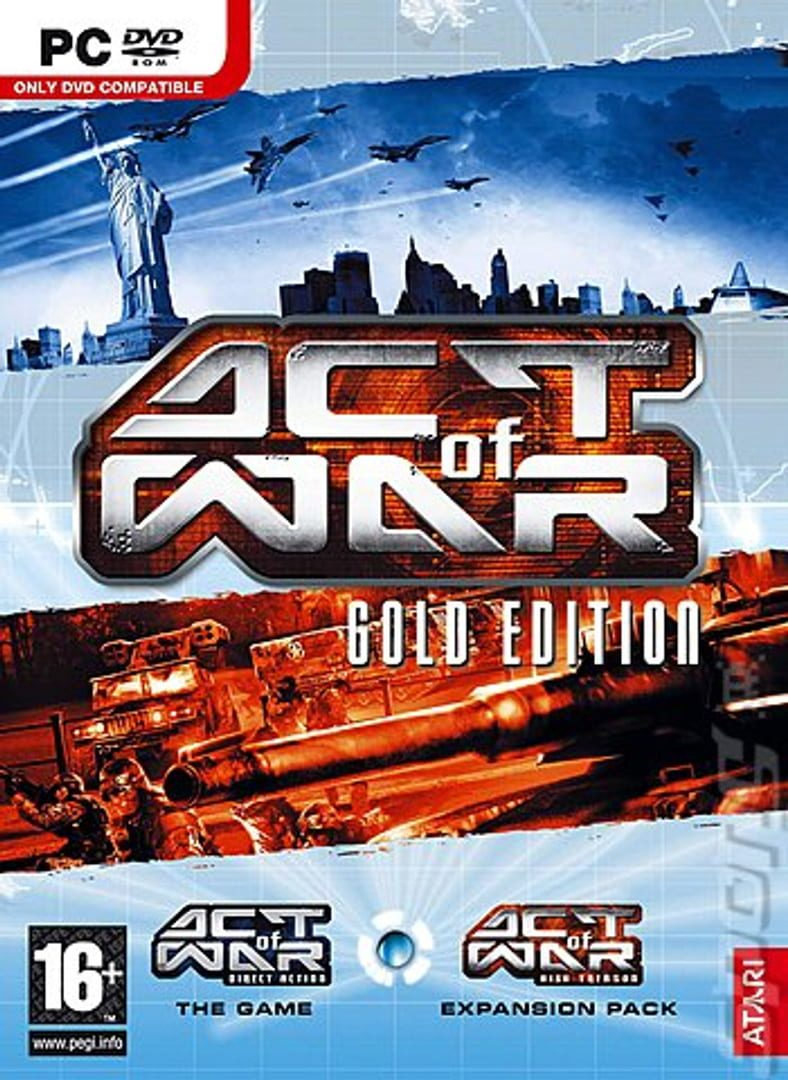 buy Act of War: Gold Edition cd key for pc platform