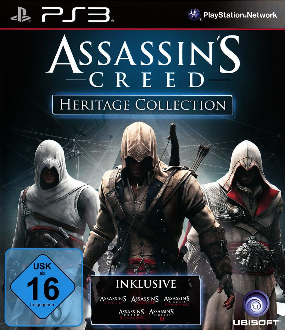 buy Assassin's Creed: Heritage Collection cd key for psn platform