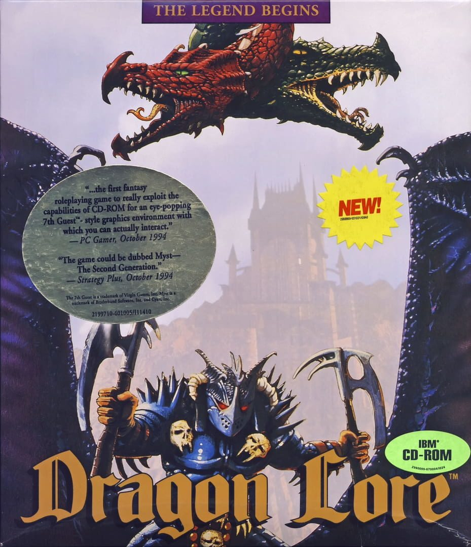 buy Dragon Lore: The Legend Begins cd key for pc platform