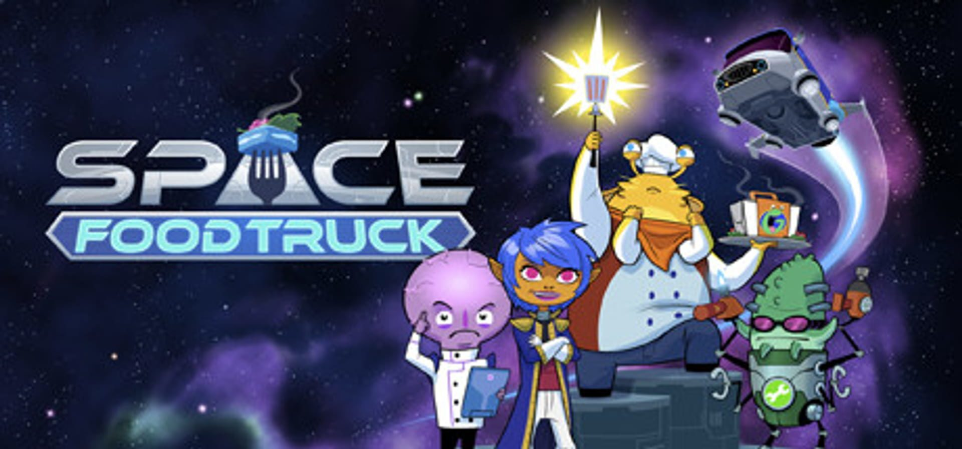 buy Space Food Truck cd key for pc platform