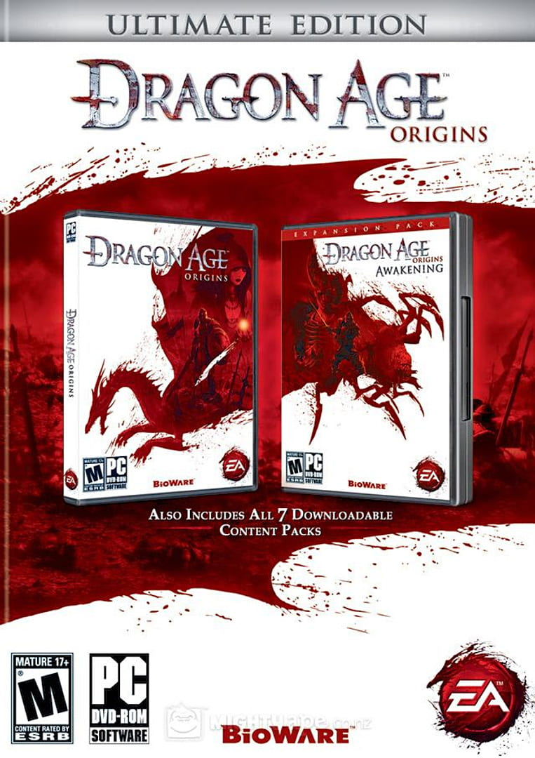 buy Dragon Age: Origins - Ultimate Edition cd key for pc platform