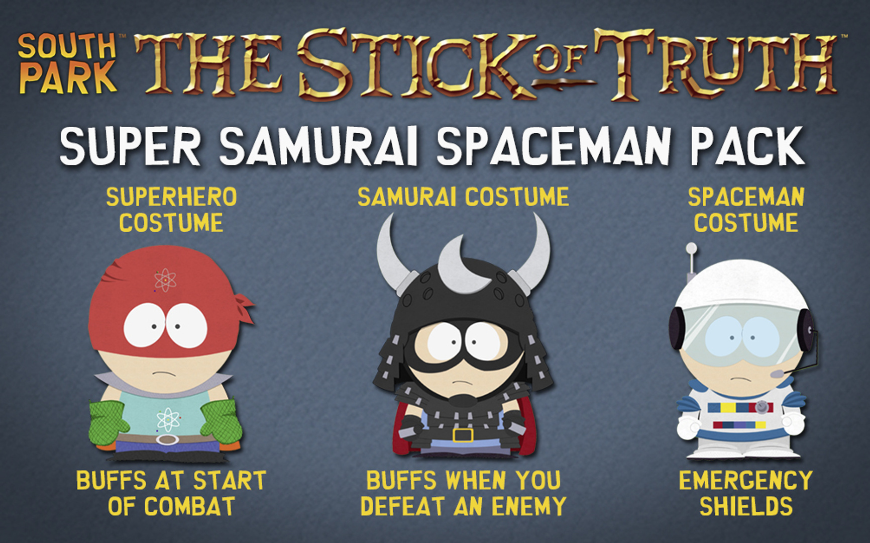 buy South Park: The Stick of Truth - Super Samurai Spaceman Pack cd key for all platform