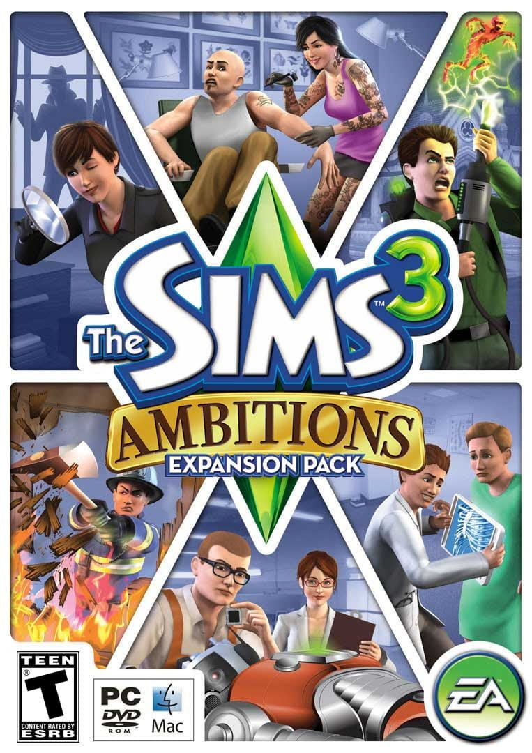 buy The Sims 3: Ambitions cd key for all platform