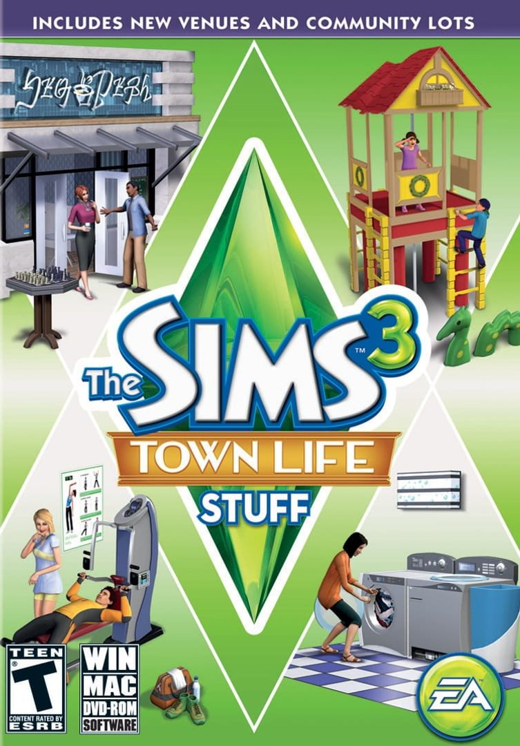 buy The Sims 3: Town Life Stuff cd key for all platform