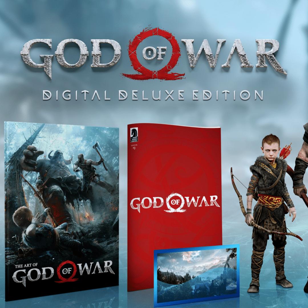 buy God of War: Digital Deluxe Edition cd key for all platform