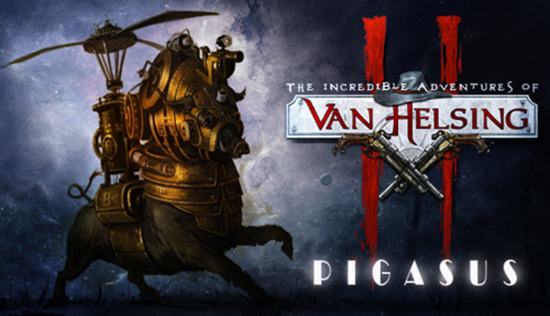 buy The Incredible Adventures of Van Helsing II: Pigasus cd key for all platform