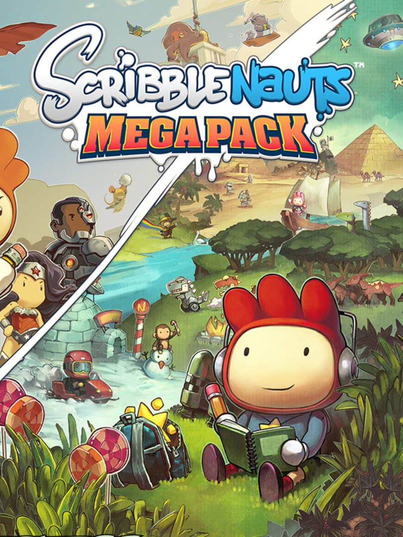 buy Scribblenauts Mega Pack cd key for all platform