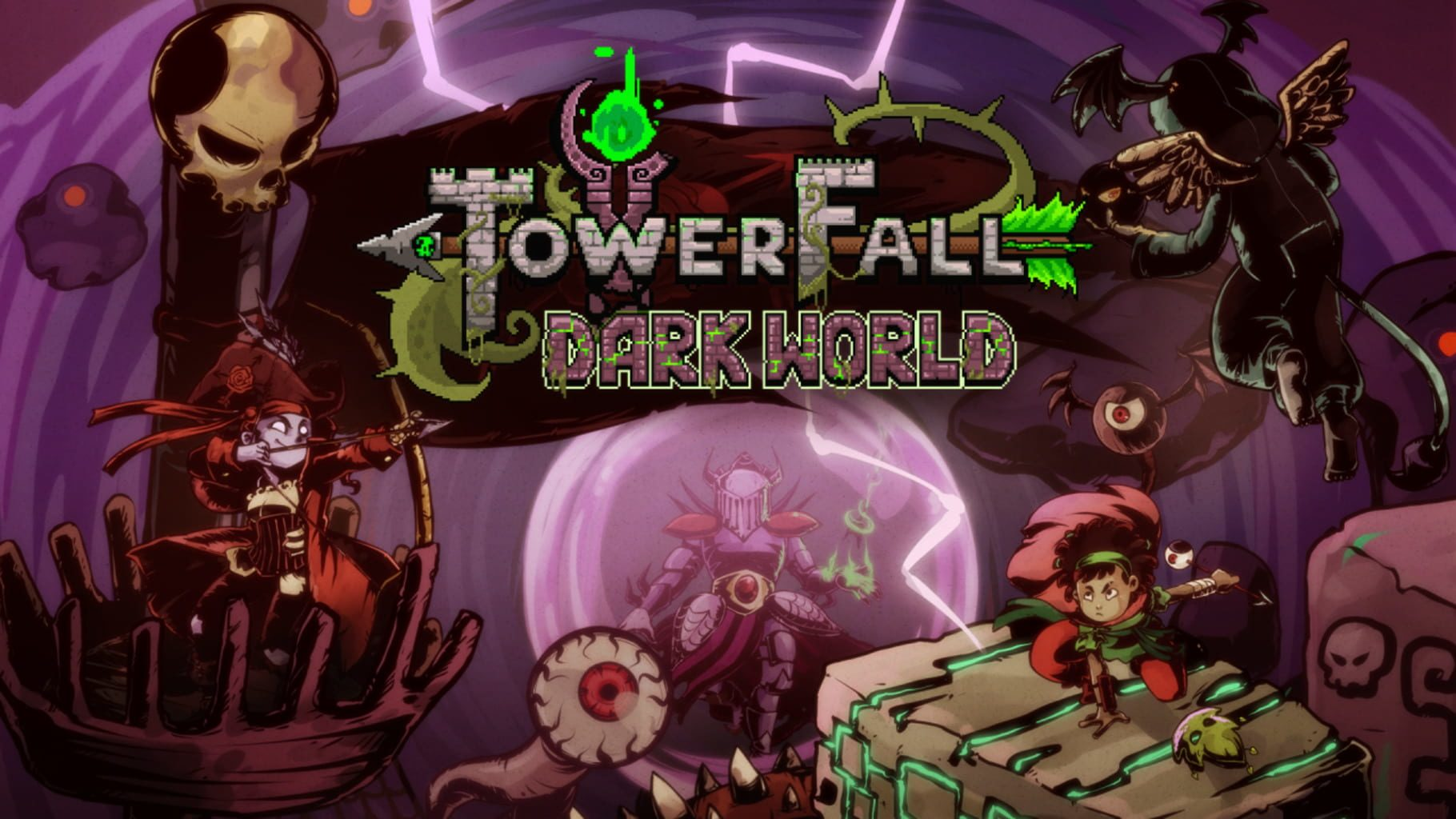buy Towerfall Ascension: Dark Worlds cd key for all platform