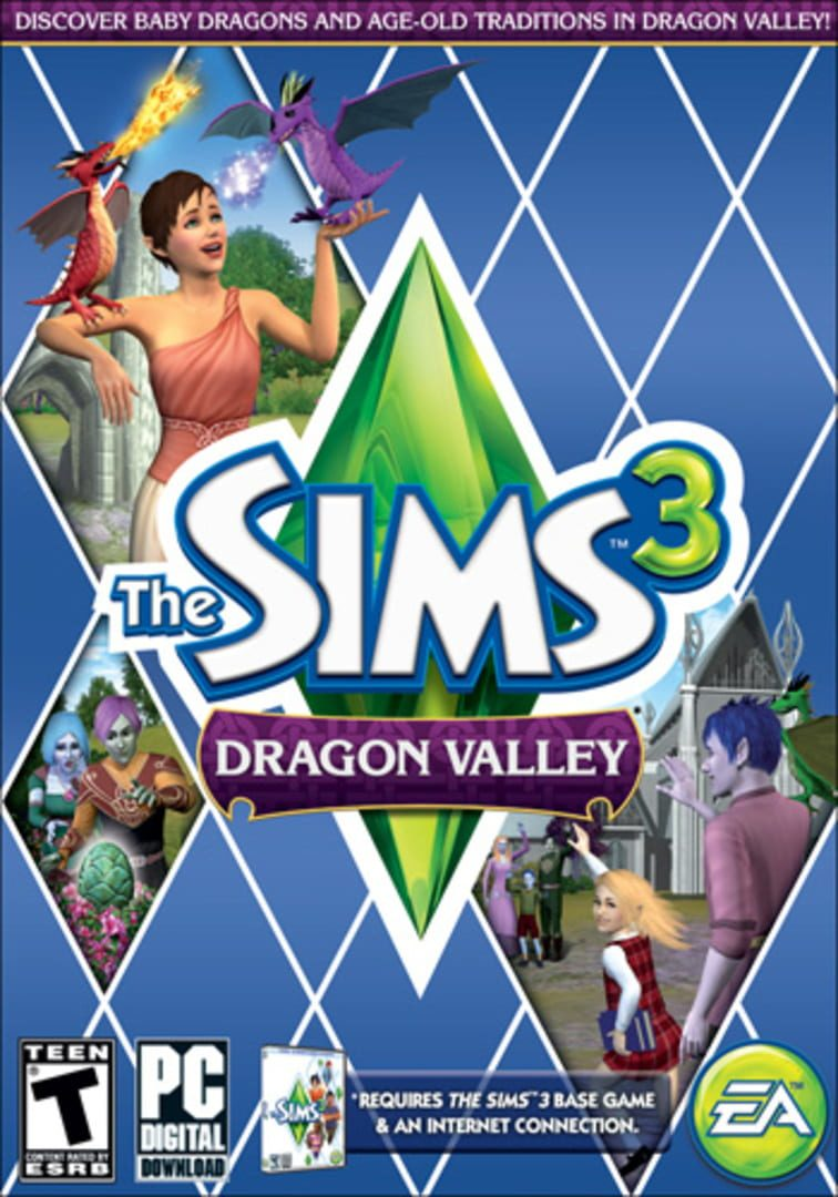 buy The Sims 3: Dragon Valley cd key for all platform