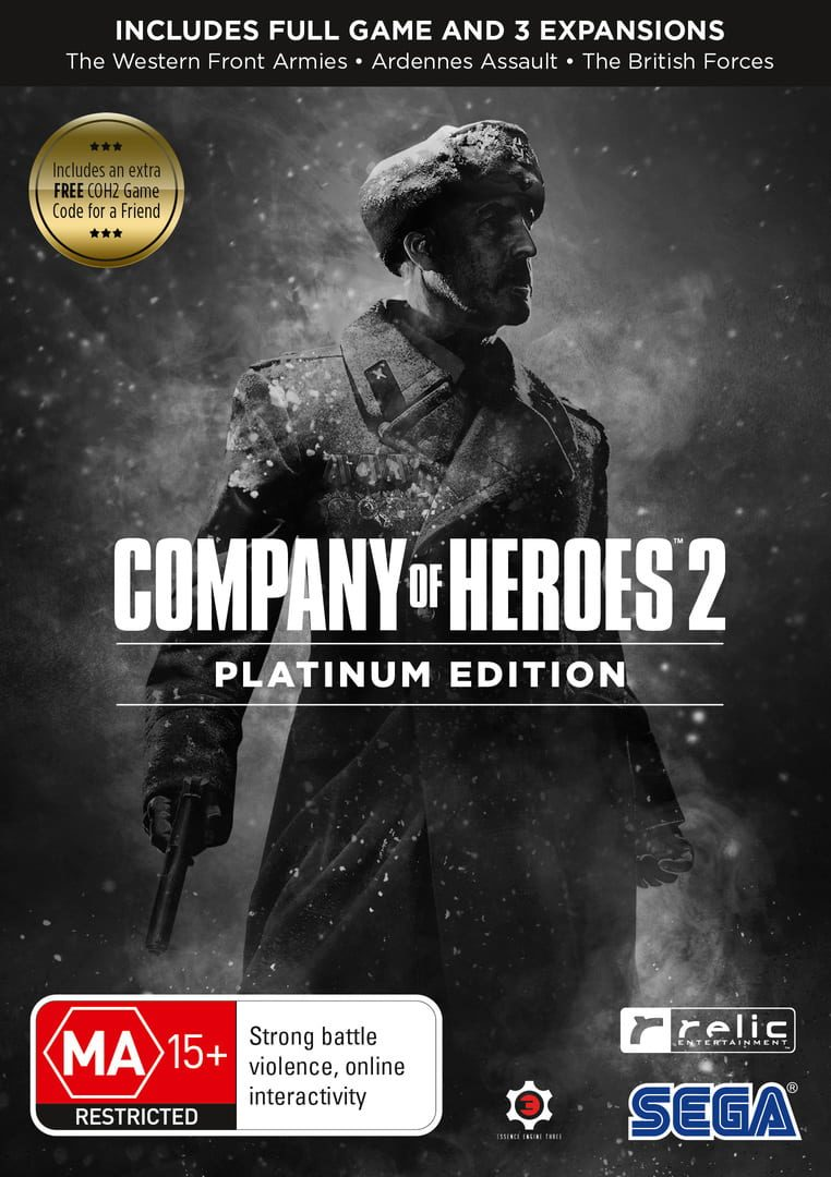 buy Company of Heroes 2: Platinum Edition cd key for all platform