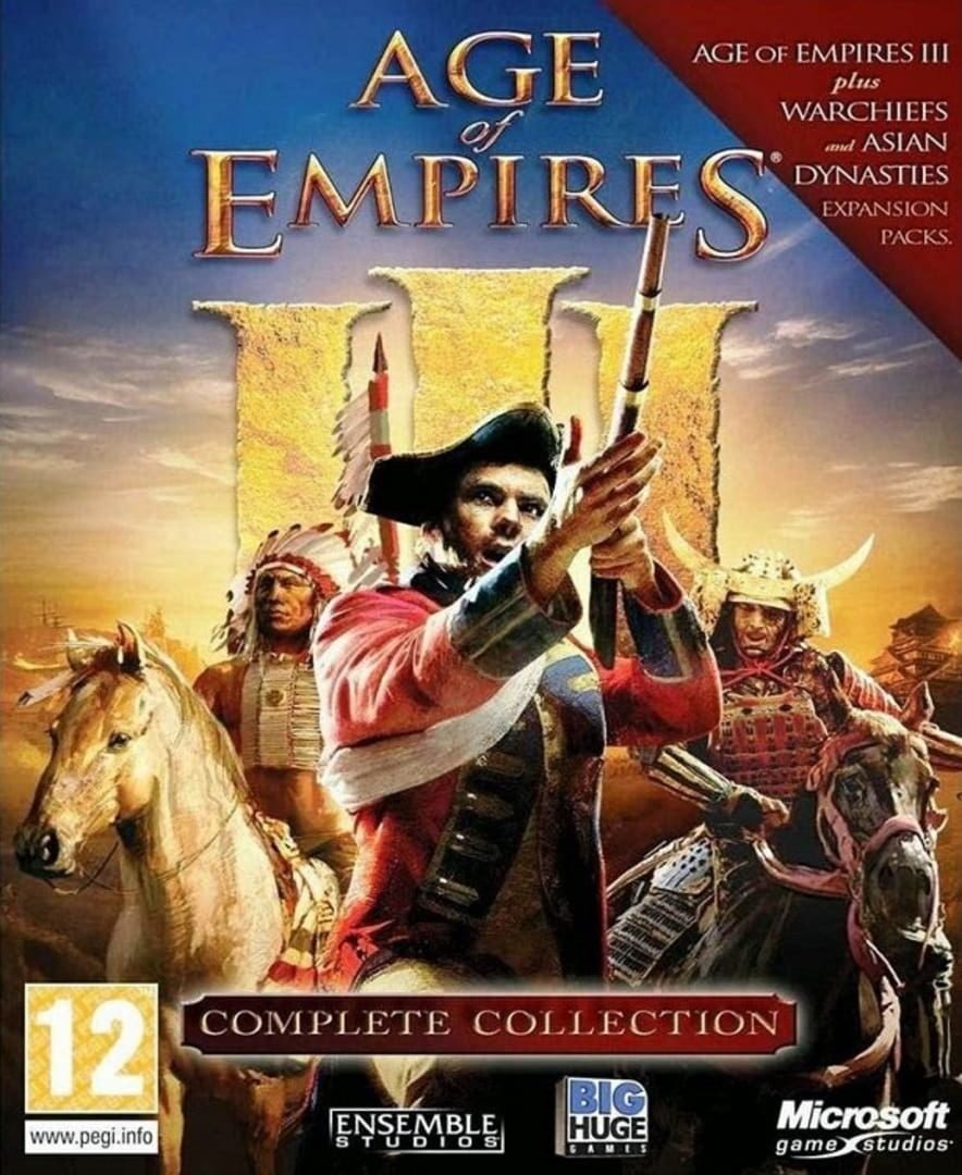 buy Age of Empires III: Complete Collection cd key for pc platform