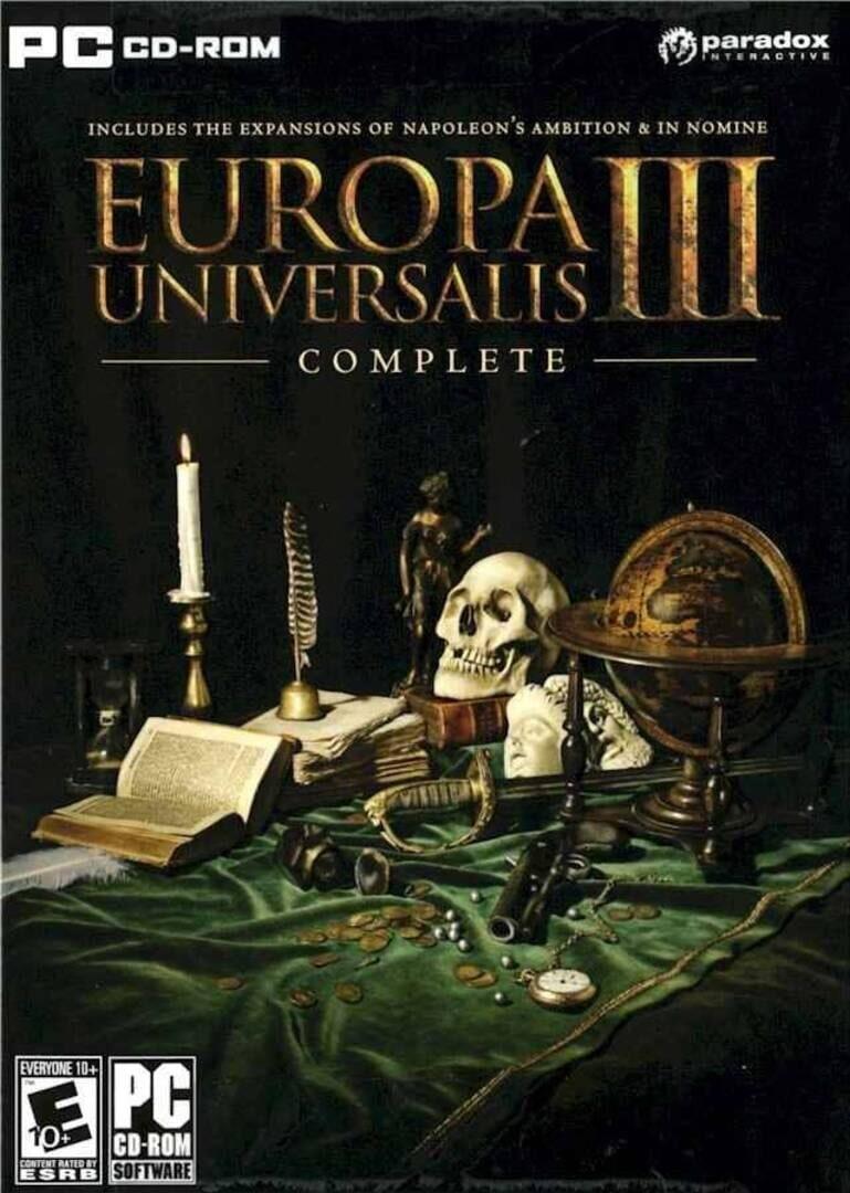 buy Europa Universalis III Complete cd key for nintendo platform