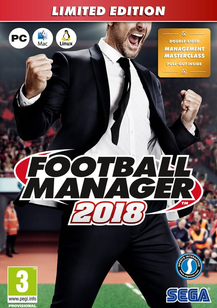 buy Football Manager 2018: Limited Edition cd key for all platform