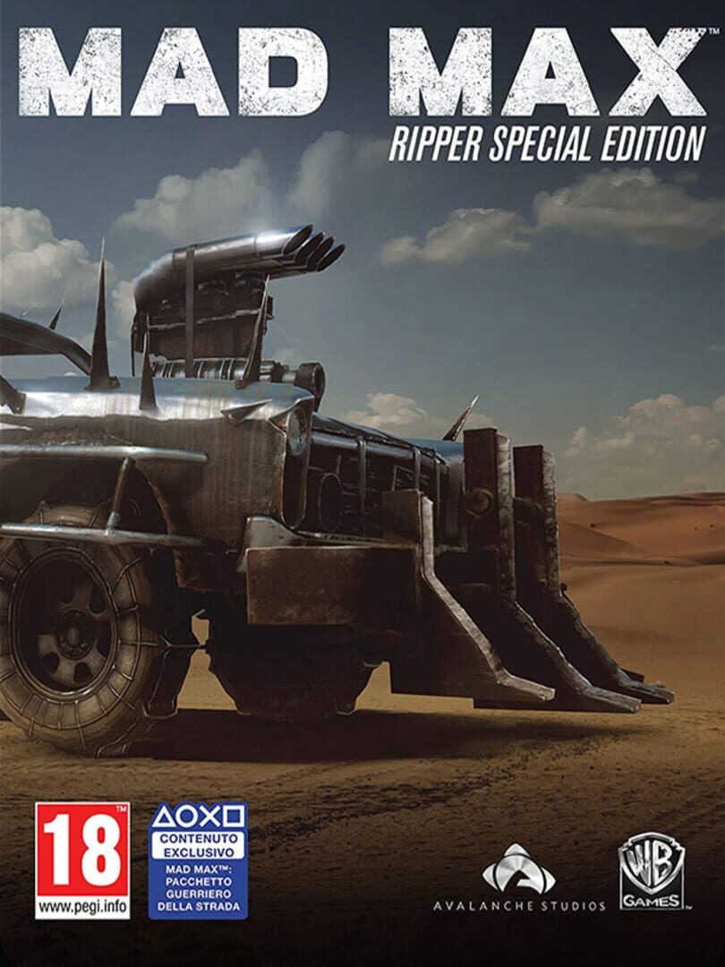 buy Mad Max Ripper Special Edition cd key for all platform