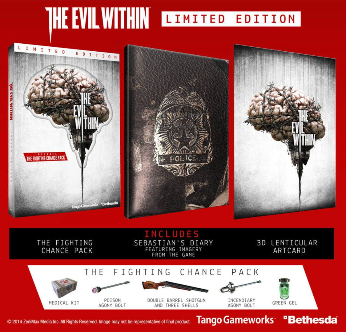 buy The Evil Within - Limited Edition cd key for all platform