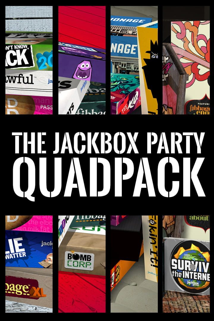 buy The Jackbox Party Quadpack cd key for all platform