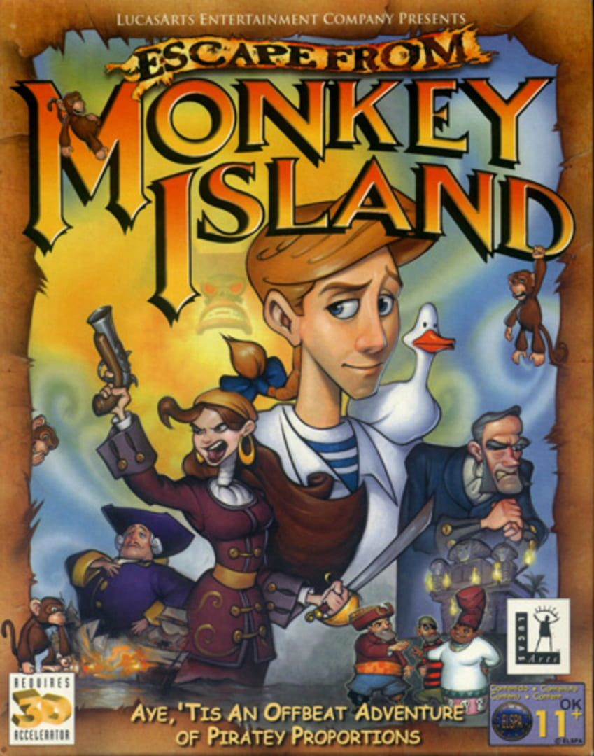 buy Escape from Monkey Island cd key for all platform