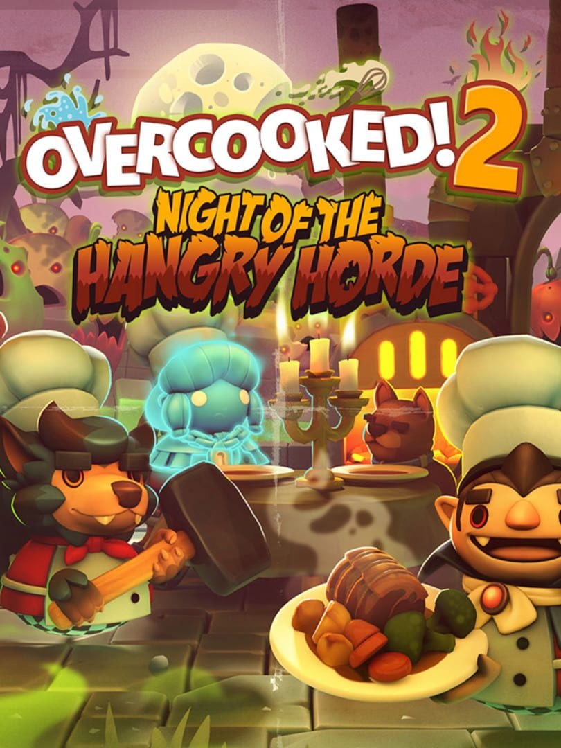 buy Overcooked! 2 - Night of the Hangry Horde cd key for all platform