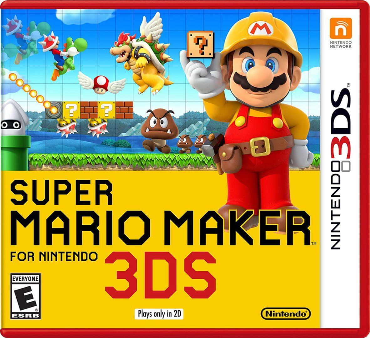buy Super Mario Maker for Nintendo 3DS cd key for all platform