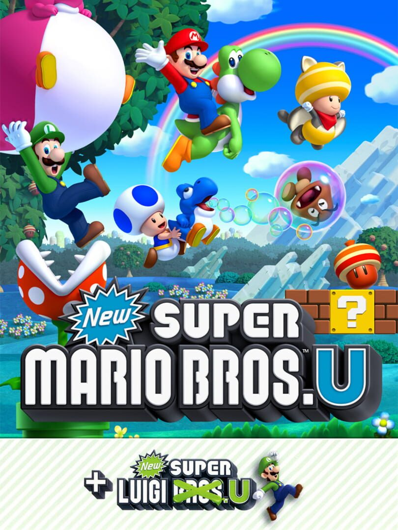 buy New Super Mario Bros. U + New Super Luigi U cd key for all platform