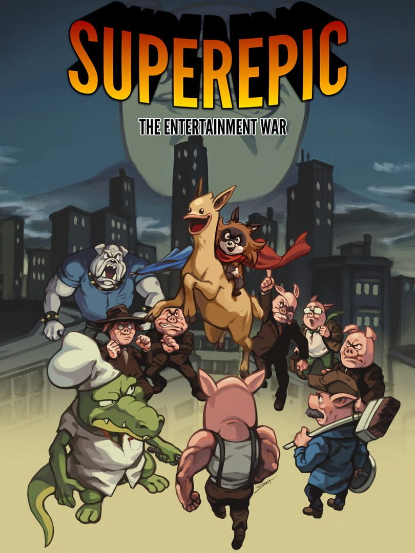 buy SuperEpic: The Entertainment War cd key for all platform