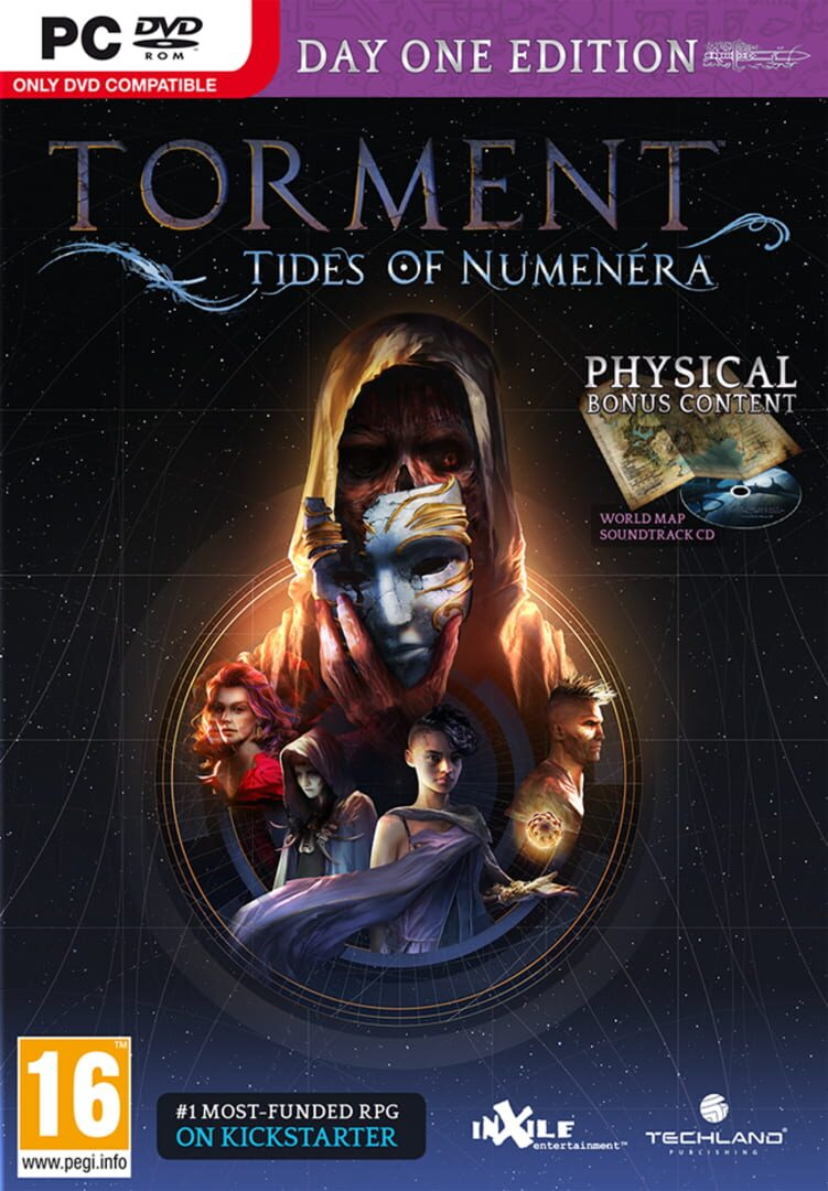 buy Torment: Tides of Numenera - Day One Edition cd key for all platform