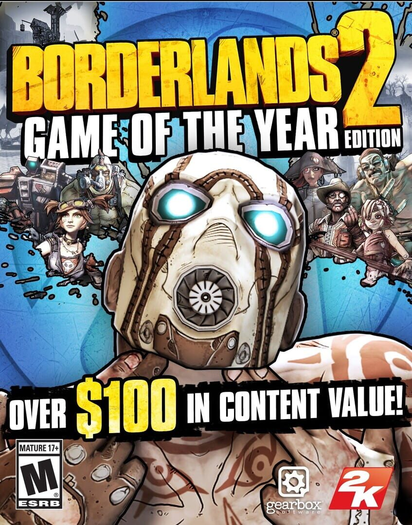 buy Borderlands 2: Game of the Year Edition cd key for all platform