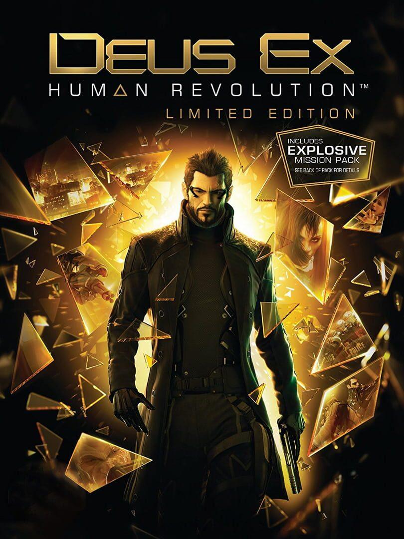 buy Deus Ex: Human Revolution - Limited Edition cd key for all platform