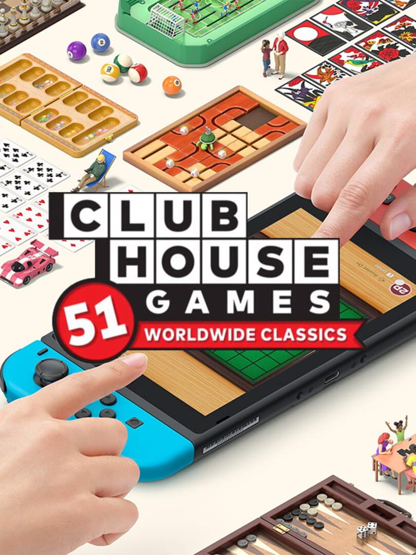 buy Clubhouse Games: 51 Worldwide Classics cd key for all platform
