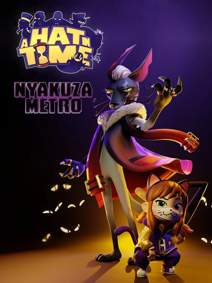 buy A Hat in Time: Nyakuza Metro cd key for all platform