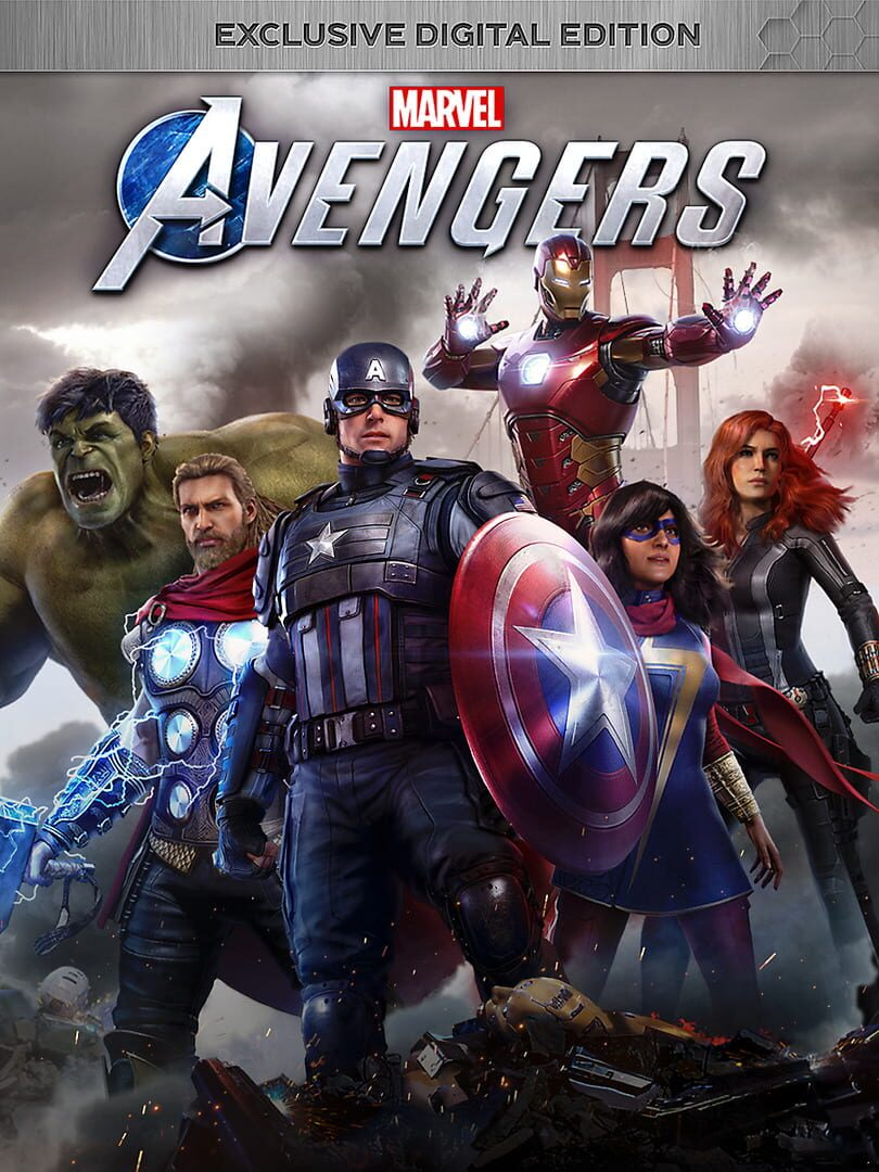 buy Marvel's Avengers: Exclusive Digital Edition cd key for all platform