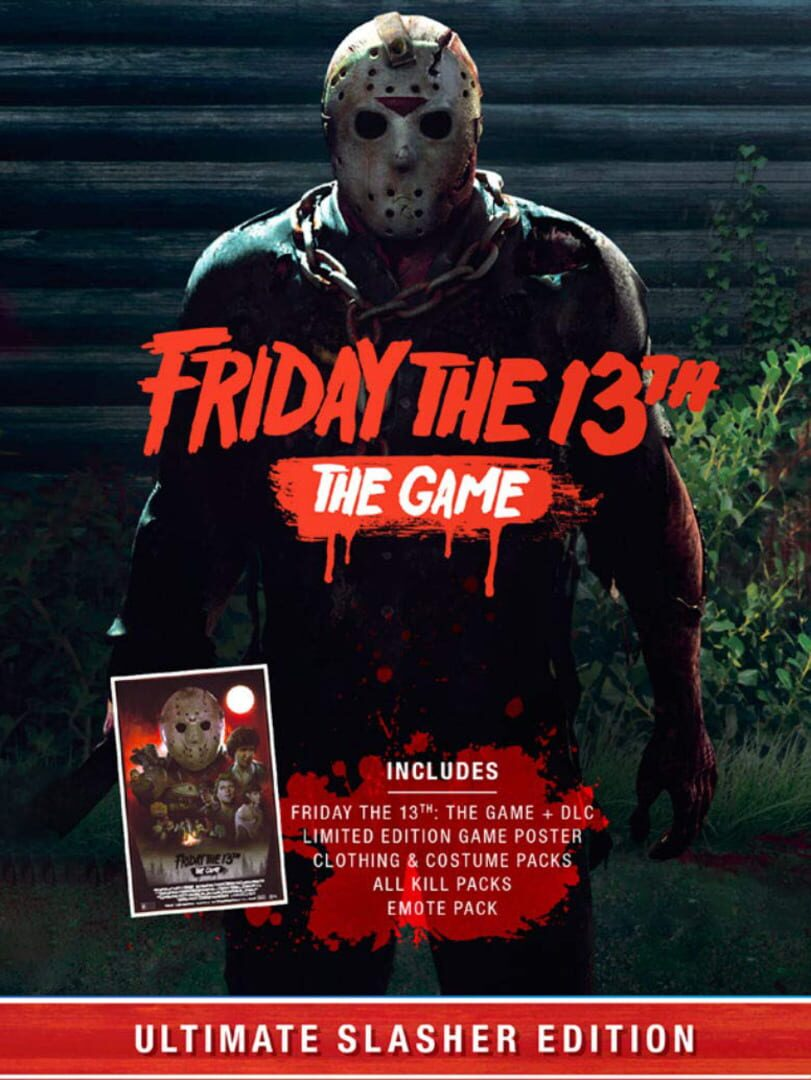 buy Friday the 13th: The Game - Ultimate Slasher Edition cd key for all platform
