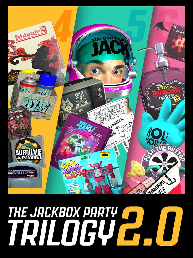 buy The Jackbox Party Trilogy 2.0 cd key for all platform