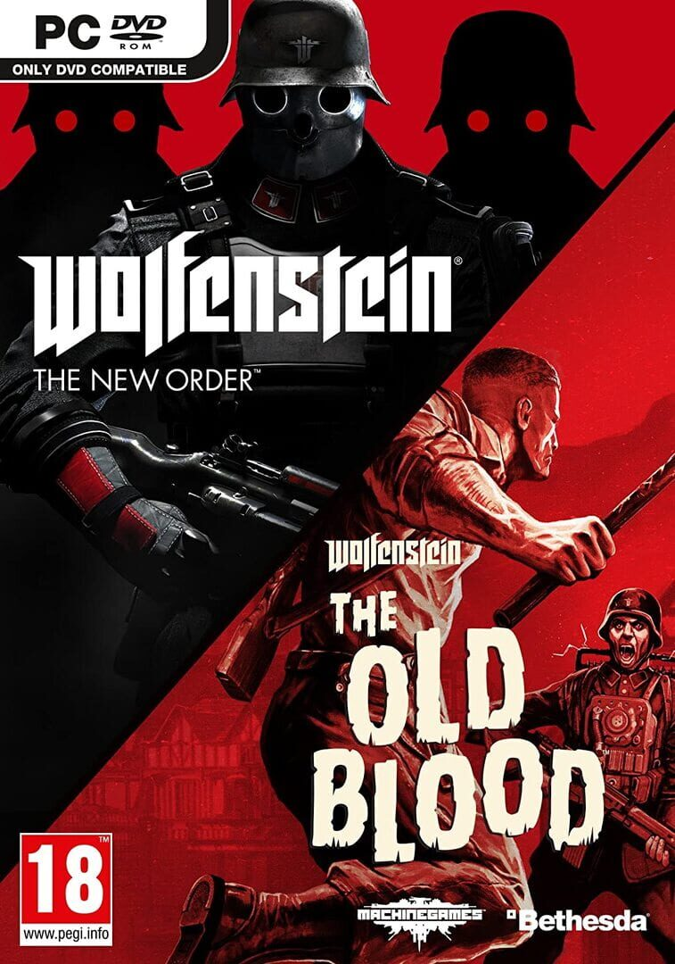 buy Wolfenstein The New Order and The Old Blood Double Pack cd key for all platform