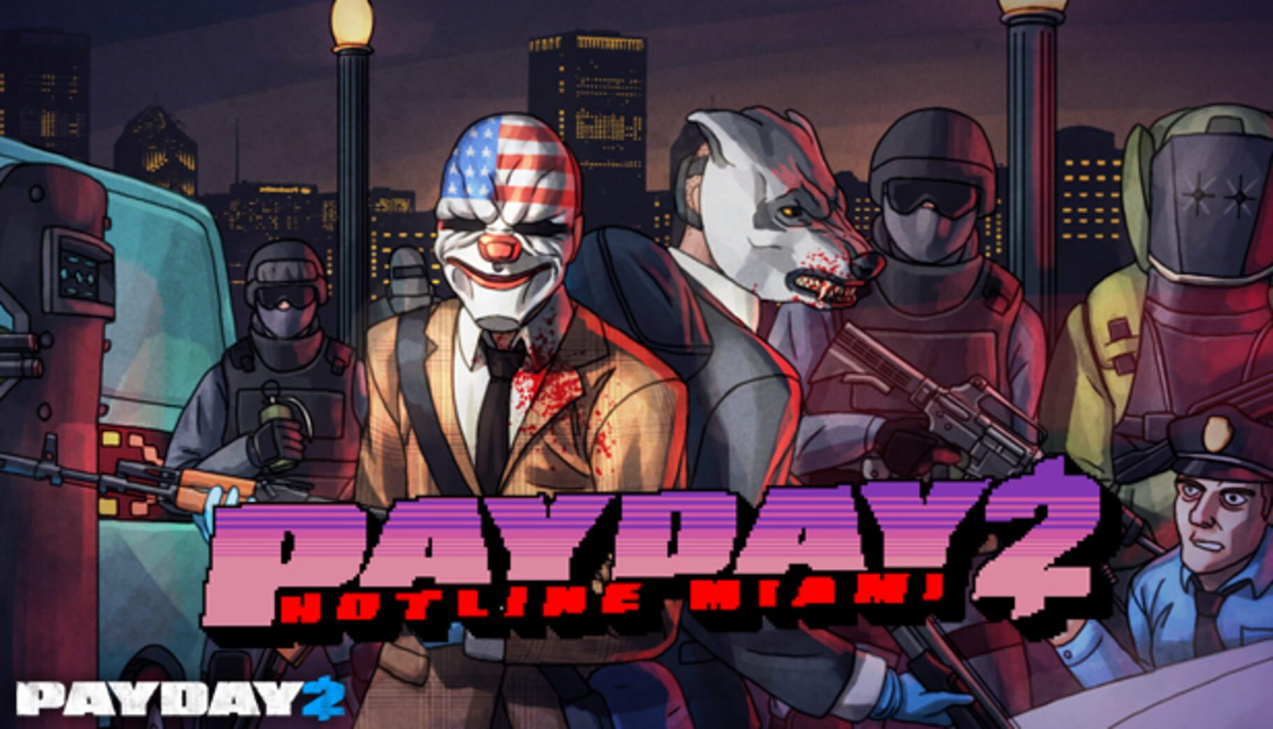 buy PAYDAY 2: Hotline Miami cd key for all platform