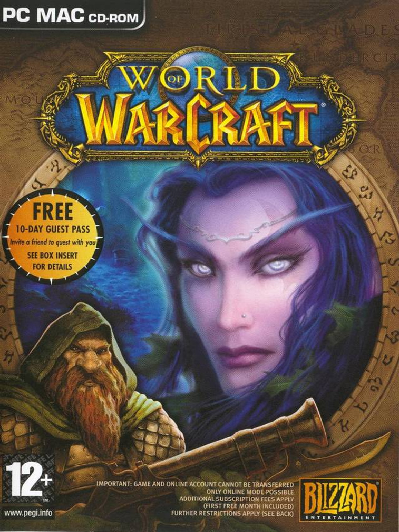 buy World of Warcraft cd key for pc platform