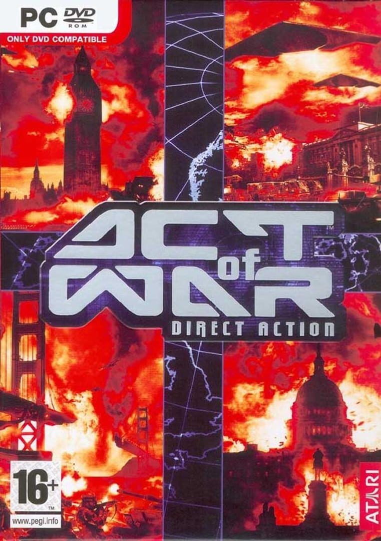buy Act of War: Direct Action cd key for pc platform