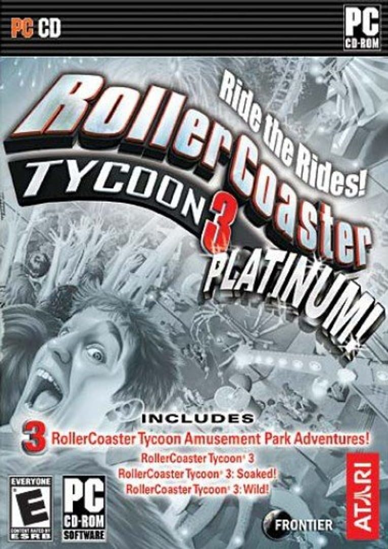 buy RollerCoaster Tycoon 3: Platinum cd key for pc platform
