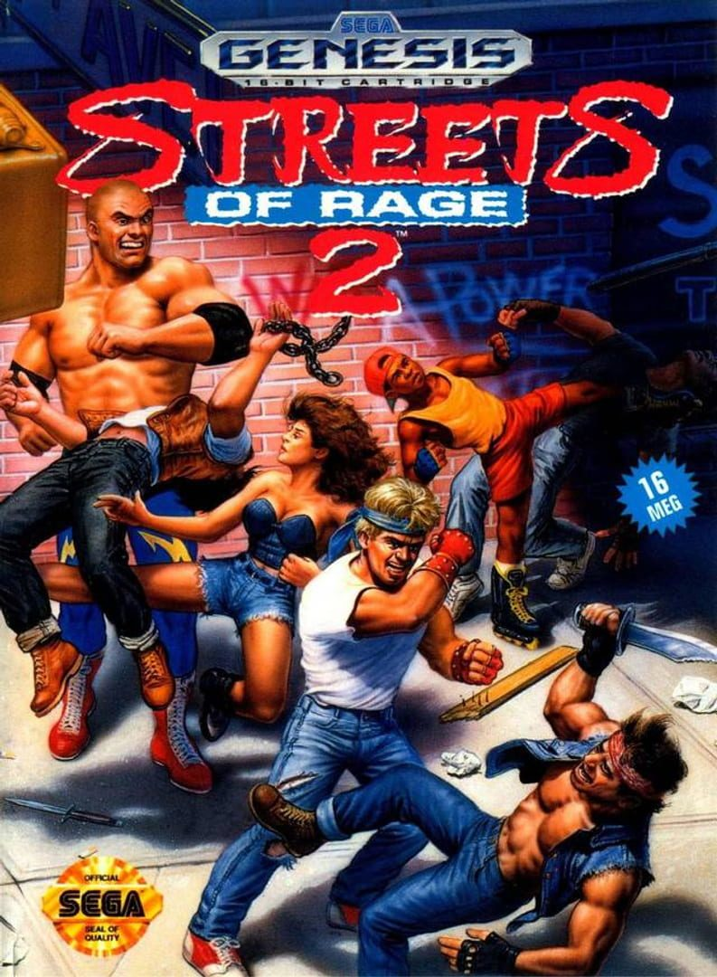 buy Streets of Rage 2 cd key for pc platform