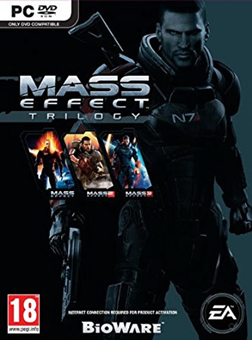 buy Mass Effect Trilogy cd key for all platform