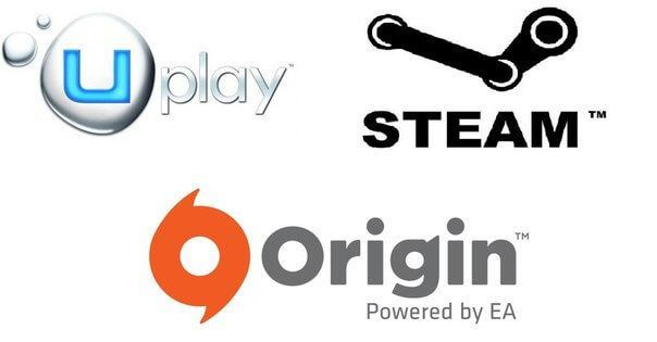 Steam vs. Origin Vs. Uplay